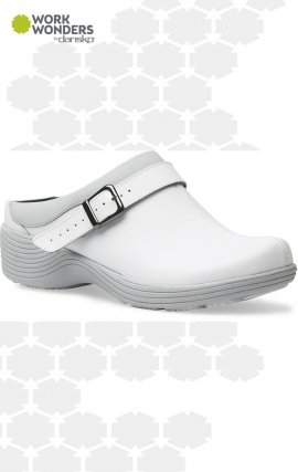 Carnation Work Wonders by Dansko™ - White Leather