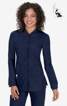 438 Navy koi Comfort Callie Jacket - Navy
