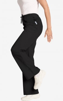 MOBB Bell Bottom Scrub Pant - Black (BL)