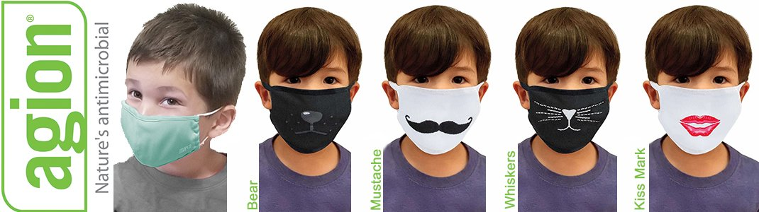Children's Reusable Cloth Fashion Mask