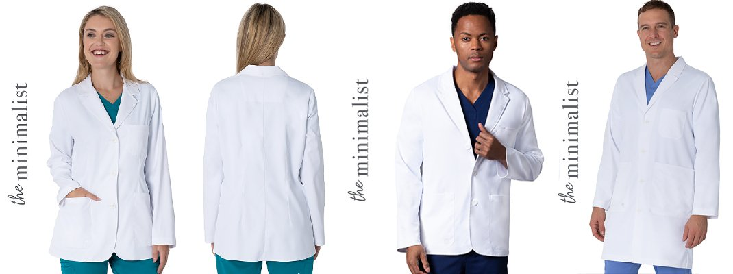 the minimalist | the white coat | Healing Hands