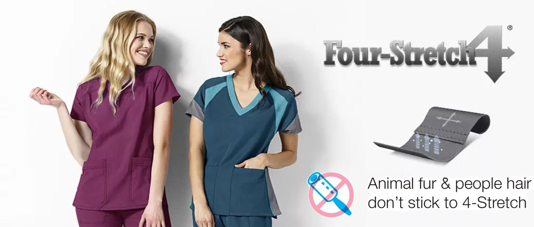 WonderWink Four-Stretch Scrubs & Uniforms Canada