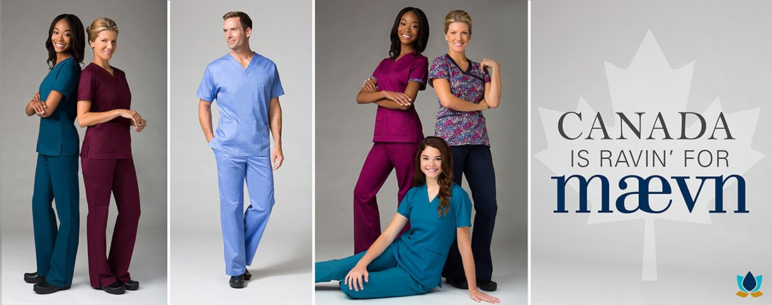 Maevn Flex Medical Uniforms Canada