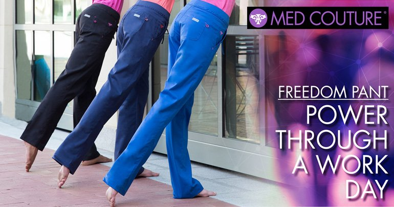 Med Couture Freedom Tie Waist Yoga Pant
